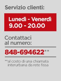 Servizio clienti & hotline