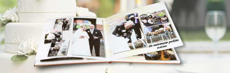 Fotolibro matrimonio CEWE
