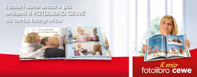 FOTOLIBRO CEWE Quadrato su carta fotografica satinata
