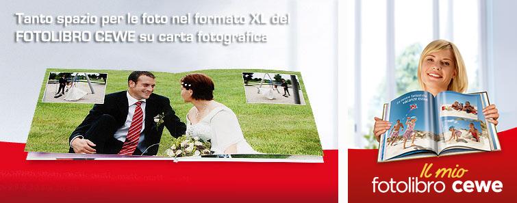 FOTOLIBRO CEWE XL su carta fotografica satinata