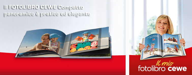 FOTOLIBRO CEWE Compatto quaderno panoramico