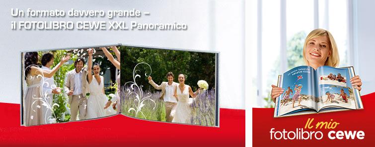 FOTOLIBRO CEWE XXL con decorazioni matrimonio