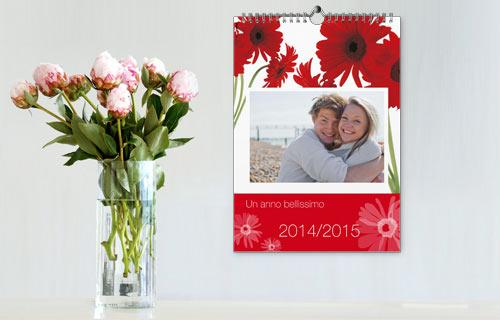 Descrizione calendario family A4