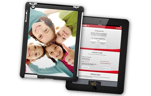 Descrizione cover iPad®