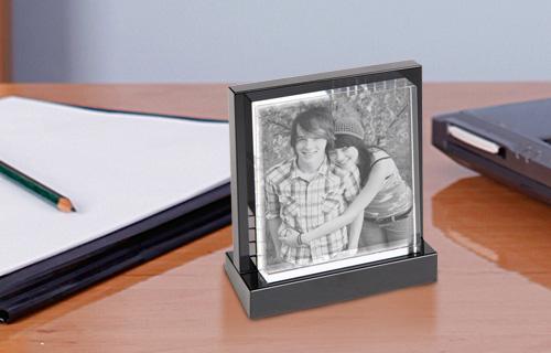 Descrizione foto in cristallo