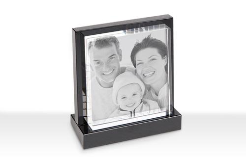 Informazioni foto in cristallo