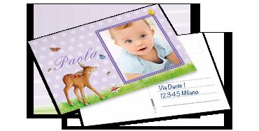 La cartolina classica con spedizione diretta