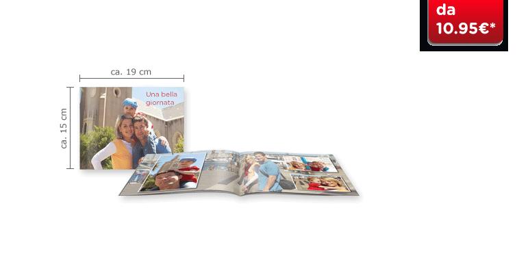 Fotolibro Compatto Panoramico CEWE: Il quaderno panoramico e compatto