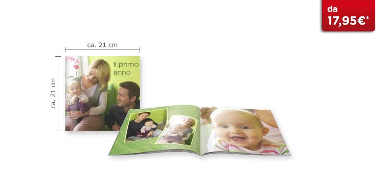 Fotolibro Quadrato CEWE: Il quaderno in formato quadrato