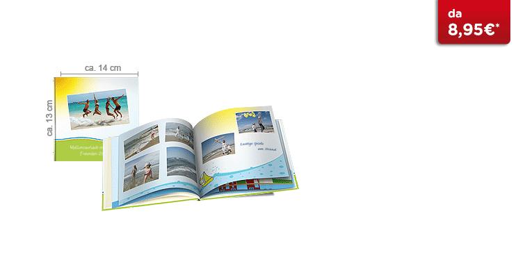 Fotolibro Piccolo CEWE: Il quaderno formato mini