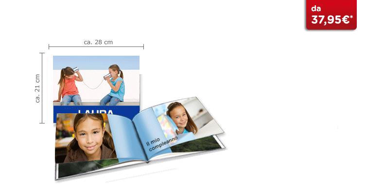 Fotolibro Grande Panoramico CEWE: Su carta glossy