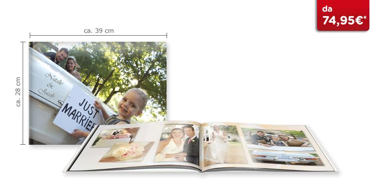 Fotolibro XXL Panoramico CEWE: Su carta glossy