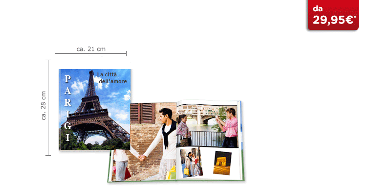 CEWE FOTOBUCH Groß: Hardcover-Einband
