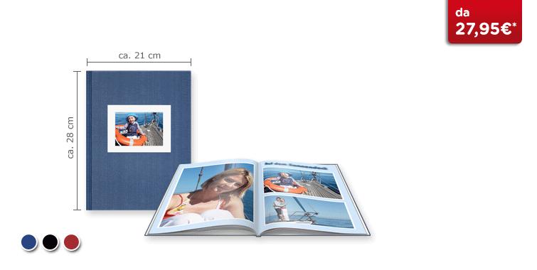 Fotolibro Grande CEWE: Copertina in tela