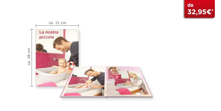 Fotolibro Grande CEWE: Su carta fotografica satinata