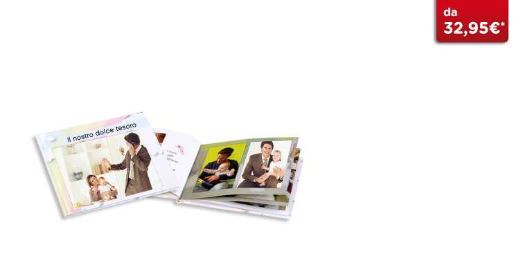 Fotolibro Quadrato CEWE: Su carta fotografica satinata