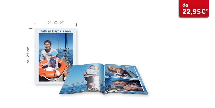 CEWE FOTOBUCH Groß: Softcover-Einband