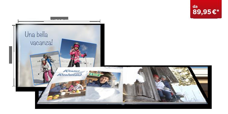 Fotolibro XXL Panoramico CEWE: Su carta fotografica glossy