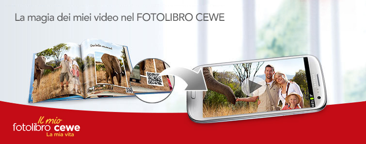 Video nel FOTOLIBRO CEWE