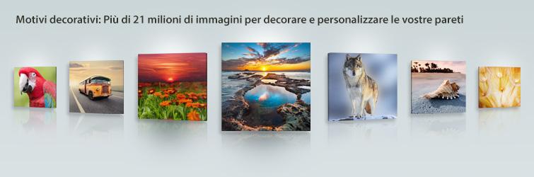 Motivi decorativi: Più di 21 milioni di immagini per decorare e personalizzare le vostre pareti
