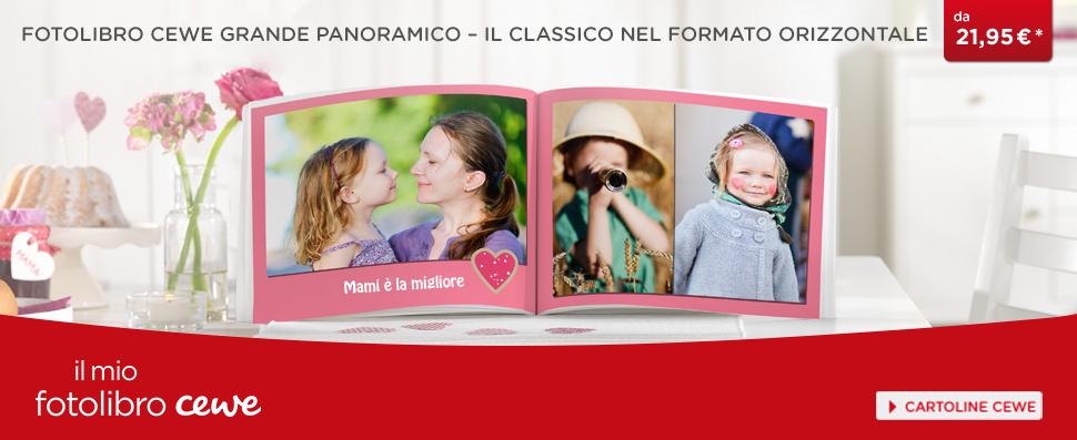 FOTOLIBRO CEWE Grande Panoramico – il classico nel formato orizzontale