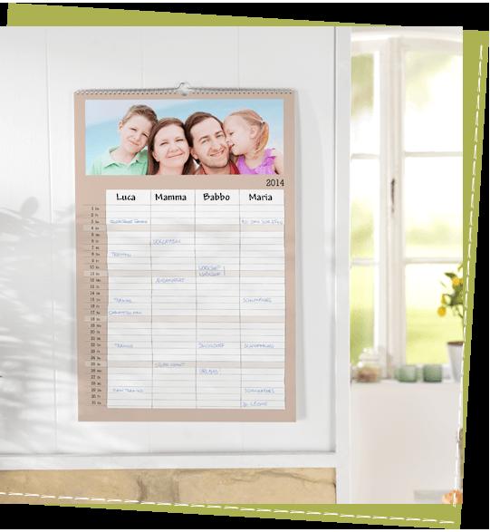 Il calendario Family A3 CEWE