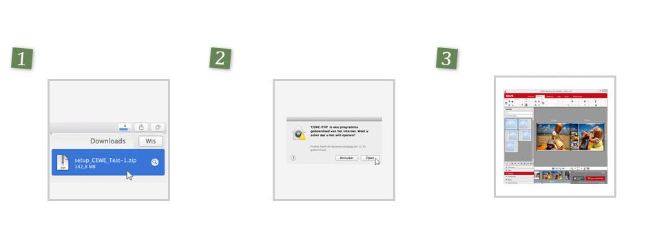 Installeren van de software