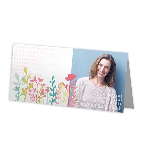 Dubbele kaarten 21x10 cm set van 10