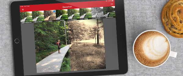 Handige functies voor het bewerken van je foto's