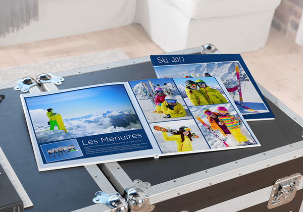 Fotoboek medium met foto's van les Menuires