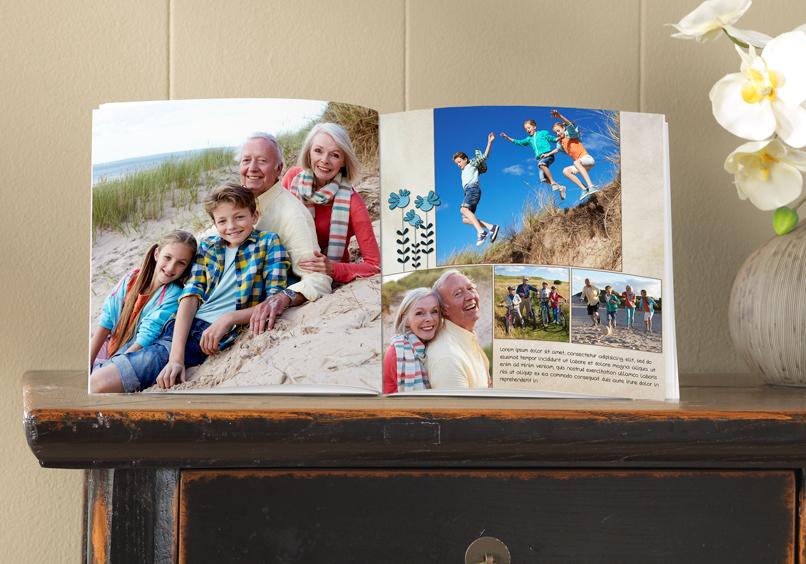 Fotoboek medium met foto's van een uitstap