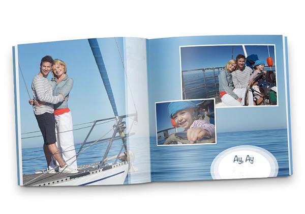 Fotoboek met foto's van varen
