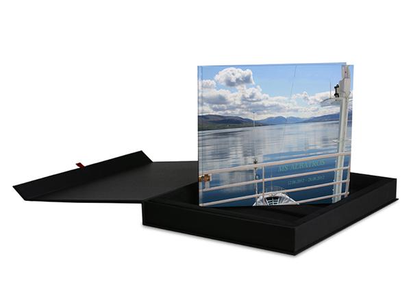 fotoboek in een geschenbox