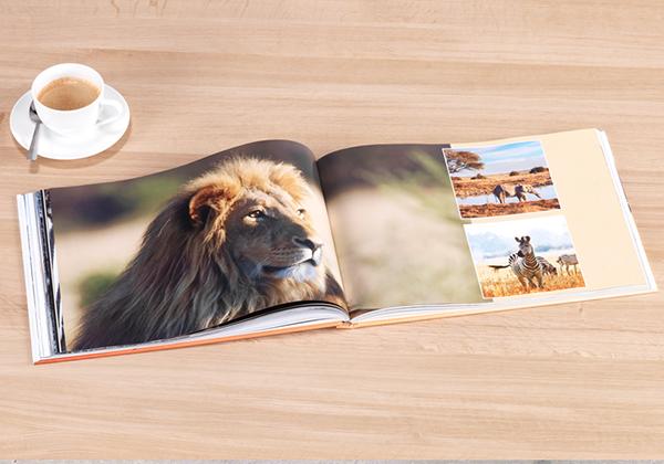 fotoboek met foto's van Kenia