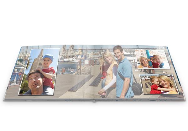 fotoboek met foto's van een uitstap