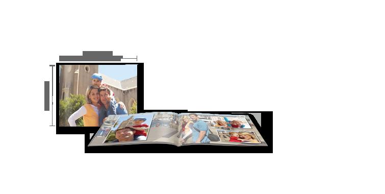 CEWE FOTOBOEK compact liggend: fotoschrift