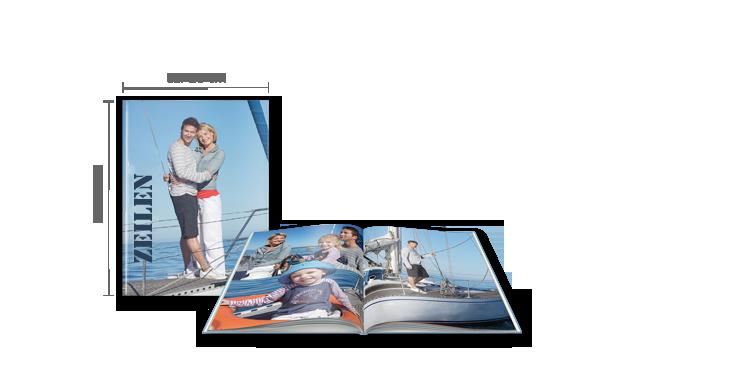 CEWE FOTOBOEK large staand: Hardcover