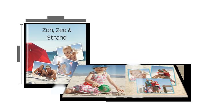 CEWE FOTOBOEK XL: op glanzend fotopapier