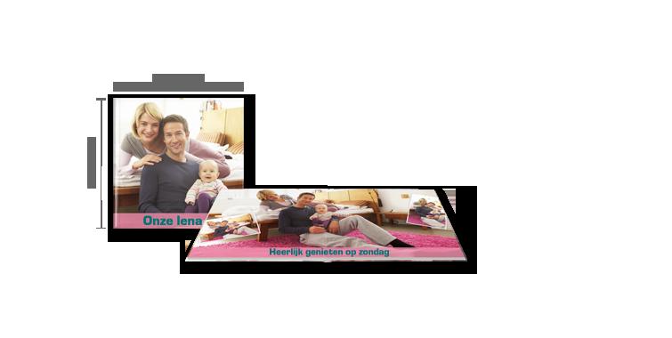 CEWE FOTOBOEK medium: fotopapier mat