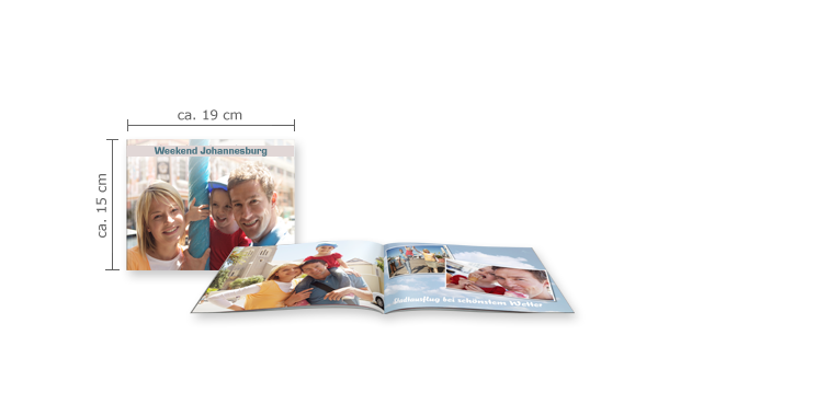 CEWE FOTOBOEK compact liggend: Softcover