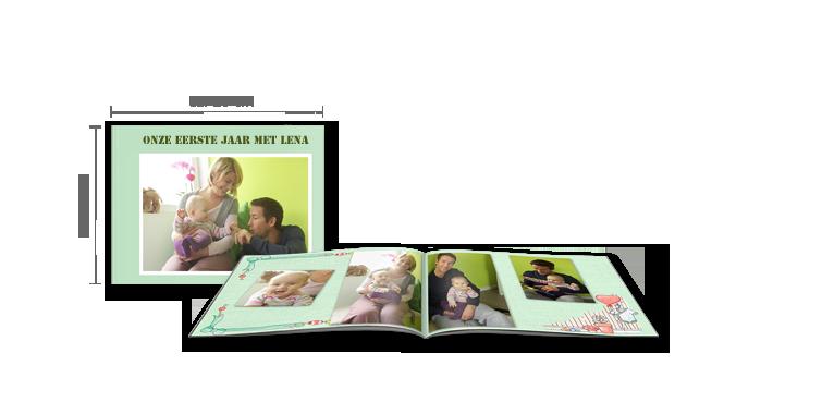 CEWE FOTOBOEK large liggend: softcover