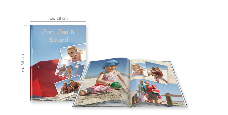 CEWE FOTOBOEK XXL staand: Hardcover