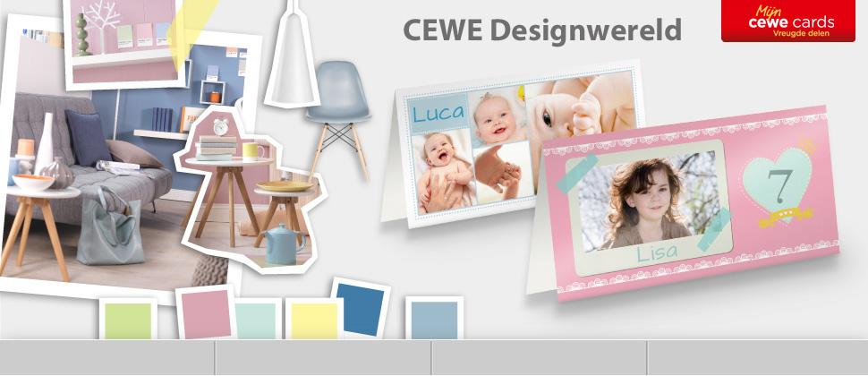 CEWE Designwereld voor jouw wenskaarten