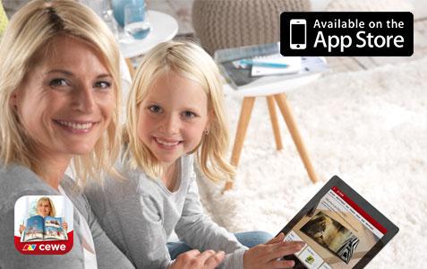 CEWE FOTOBOK-app til iOS