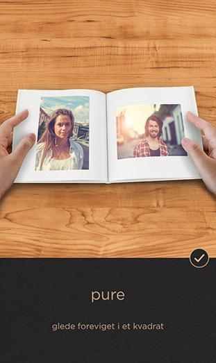 CEWE FOTOBOK Pure app - pure