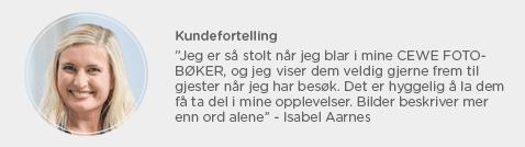 Kundefortelling Isabel Aarnes