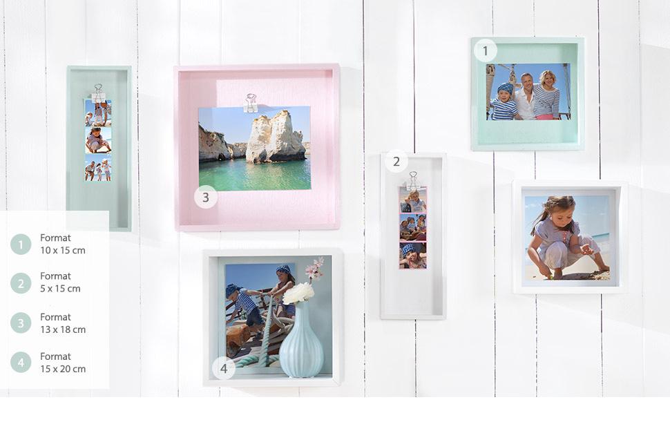Uendelige muligheter med bildene - fra dekorasjon til gave