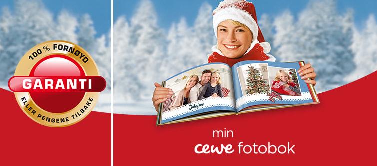 CEWE FOTOBOK - 100% Fornøydgaranti