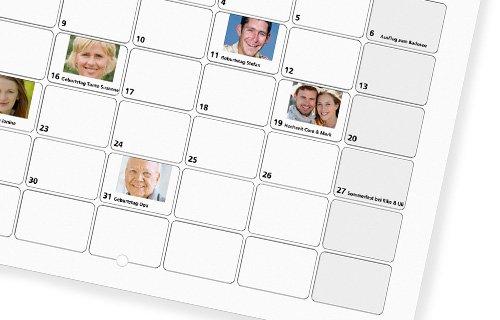 En kalender som er helt unik