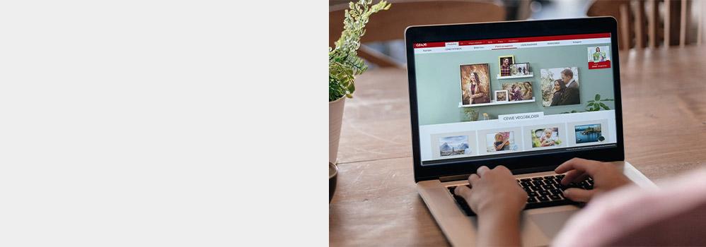Fordeler ved å utforme dine bildeprodukter i CEWE Fotoverden-programvaren